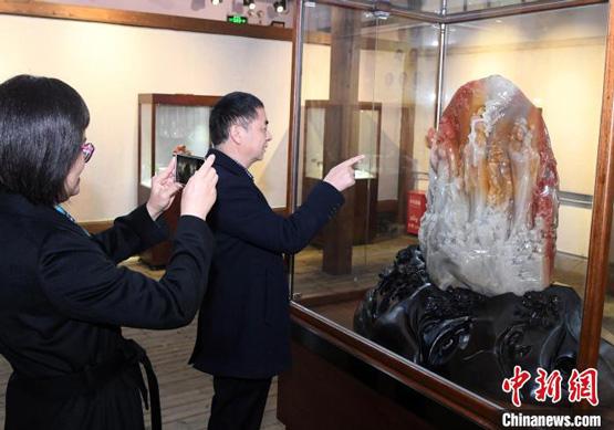 寿山石雕中国工艺美术大师作品展艺耀福建