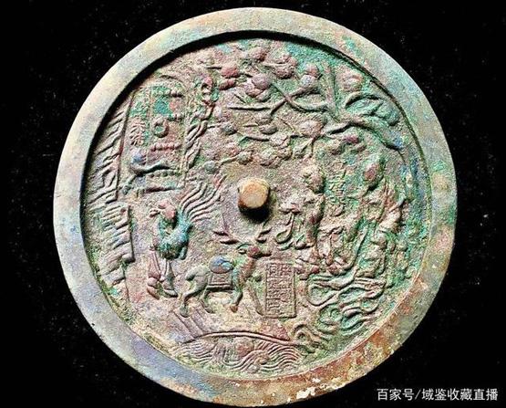 """青铜上的书画艺术:""""麻姑献寿""""人物故事铜镜赏析"""