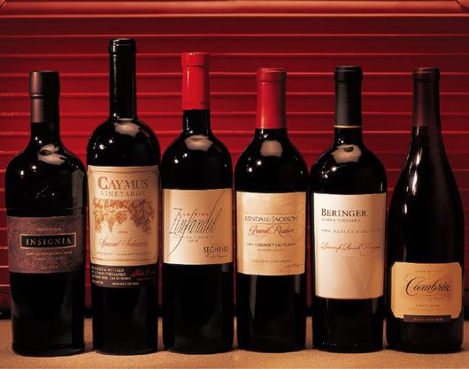 从酒标探秘美国葡萄酒
