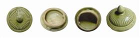 金元时期邓窑青釉茶杯盖