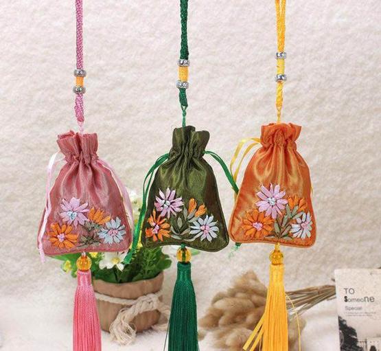 客家世界客家风情佩饰:传统荷包