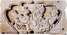 宋金时期孝道砖雕