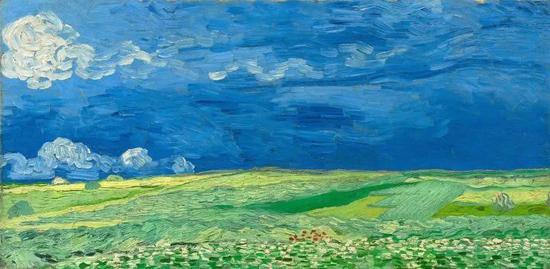 感动常在春日:梵高作品中春的希望和绝望