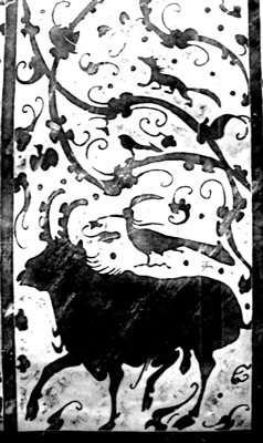 纯朴自然栩栩如生的陕北汉画像石