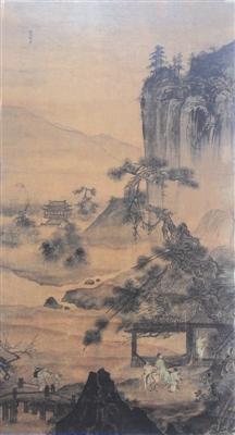 品赏明代杰出宫廷画家李在《松溪访友图》