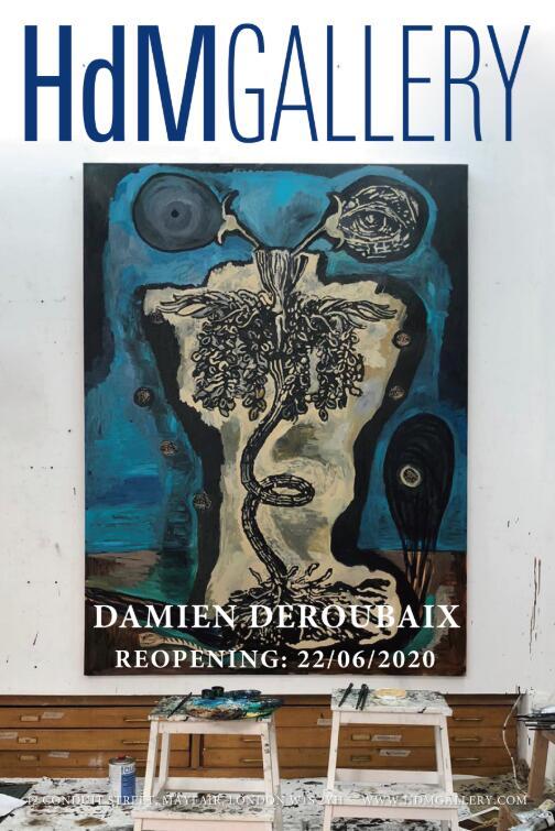 达米安・德鲁贝(Damien Deroubaix )同名个展