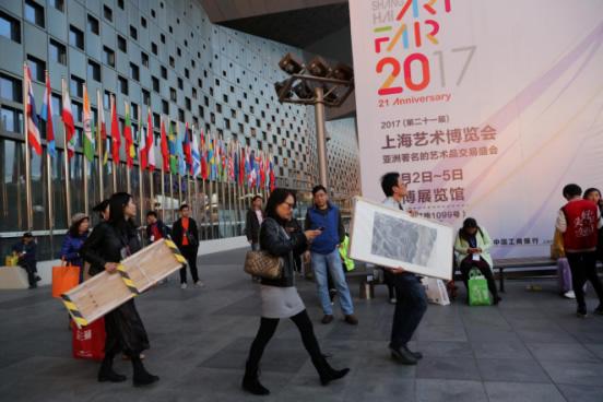 2017上海艺博会平安落幕    成交量持平历史最高纪录