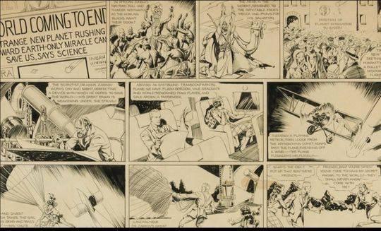 为何一页漫画手稿刷新纪录拍出48万美元