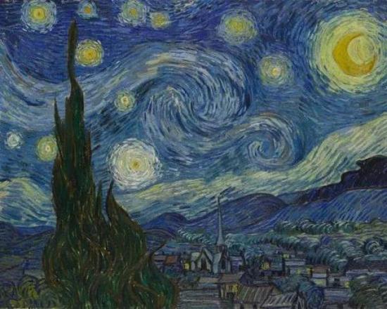 在天文学家眼里梵高的《星夜》科学吗