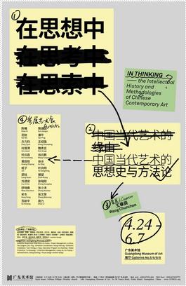 """""""在思想中―中国当代艺术的思想史与方法论""""专题研究展"""