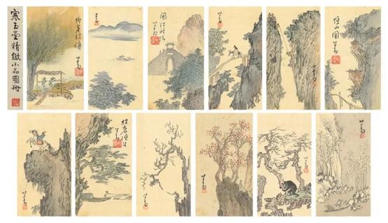 香港�K富比七月拍卖书画精选:从容淡雅旧王孙溥儒