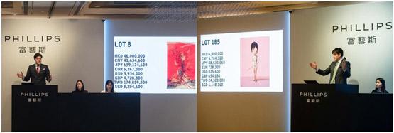 刷新6位艺术家纪录,富艺斯香港创现当代艺术有史以来最高总成交纪录