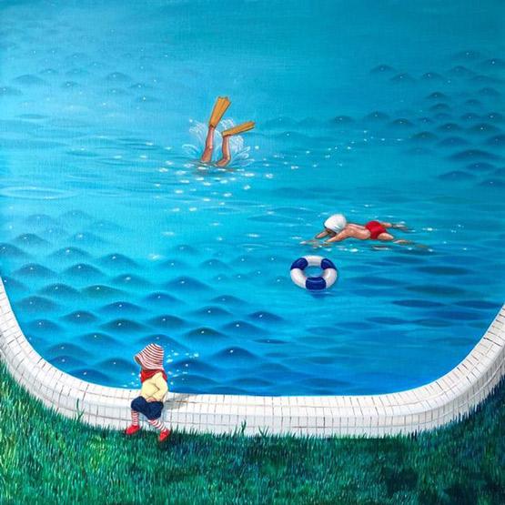 小世界――看杨纳与自然共生的艺术关怀