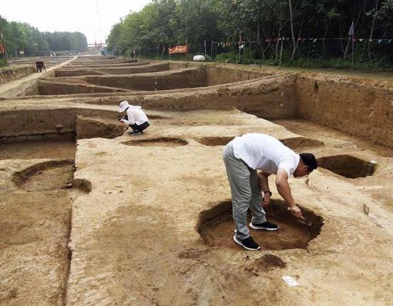 济南城区发掘出战国古城遗址 建城史提前约1700年