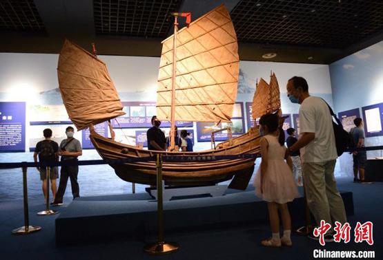 """""""南海Ⅰ号""""精品文物在内蒙古首次集中亮相 再现南宋海上贸易"""
