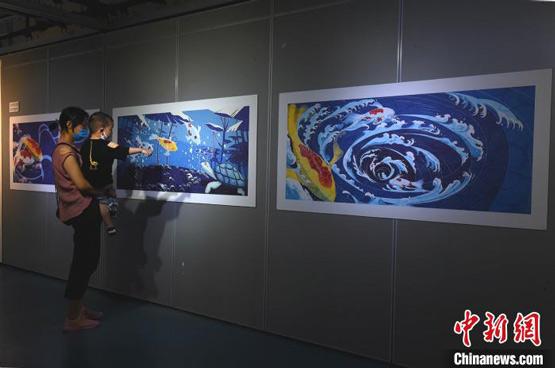 """《中国神话有意思》绘本展开展 7位年轻""""后浪""""创新东方美学"""