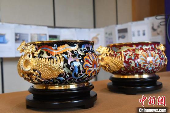 中国景泰蓝之乡举办实用景泰蓝设计大赛
