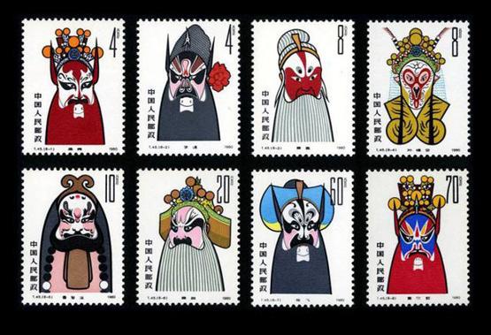 京剧邮票这样收藏会更有趣
