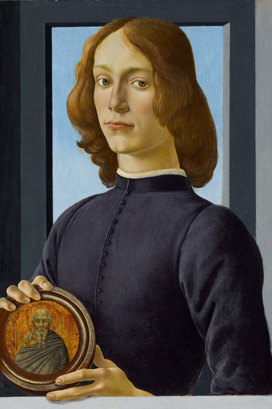 预计8000万美元成交!苏富比将拍波提切利肖像巨作《手持圆形圣像的年轻男子》