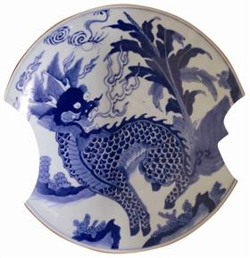 明清时期瓷盘上的动物纹