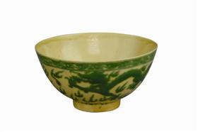 """清代瓷碗上的""""龙凤呈祥""""与""""喜鹊登梅"""""""