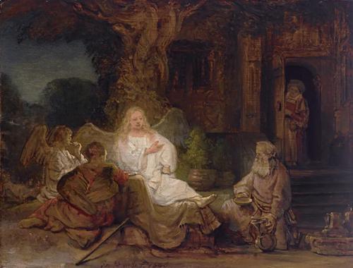 估价逾2000万美元 伦勃朗《亚伯拉罕与天使》将拍