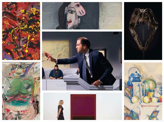 全球藏家热抢霸王龙史丹!佳士得纽约二十世纪艺术晚拍23.14亿元收槌