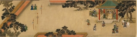 明代宫廷画家商喜作品分藏海峡两岸