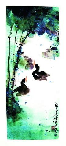 200余幅书画云展出 拍卖所得将用于公益