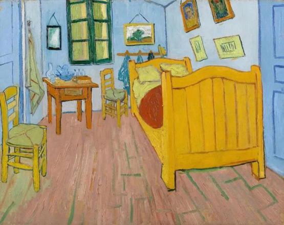 梵高和他的艺术之家:梵高的卧室