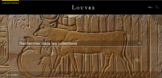 卢浮宫开通在线数据库,所有藏品一网打尽