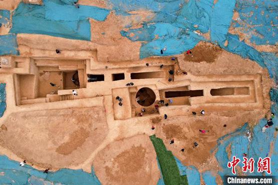 郑州闹市发现四座古墓元代曾遭盗扰