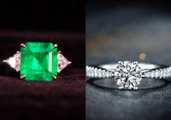 祖母绿戒指与钻石戒指哪个更有收藏价值?
