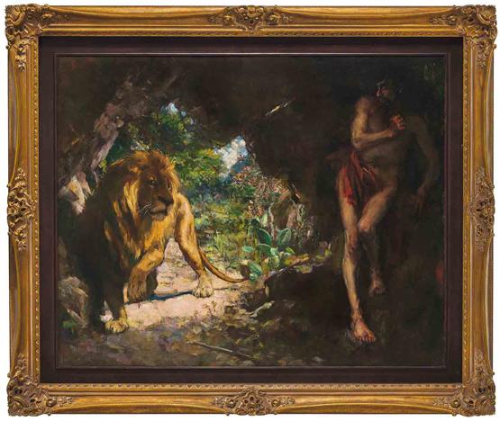 国之瑰宝再现估价3.5亿|徐悲鸿《奴隶与狮》为何值得亚洲油画史上最高价?