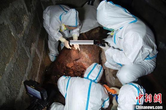 太原东山发现国内规模最大明代中晚期藩王墓